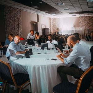 BITE team working during second Steering Committee